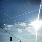 CHEMTRAILS in Richmond Dec. 10, 2012