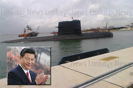 The Chinese navy's Type 039 submarine Changcheng 329 and submarine rescue ship the Changxingdao visited Colombo and berthed at CICT's dock.
