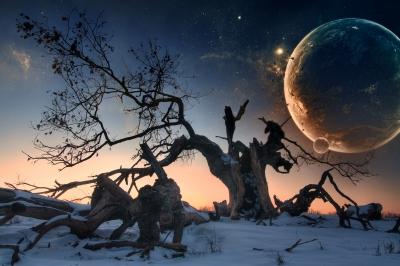 BLOOD MOONS: The American churches can't get enough witchcraft and pagan rituals.