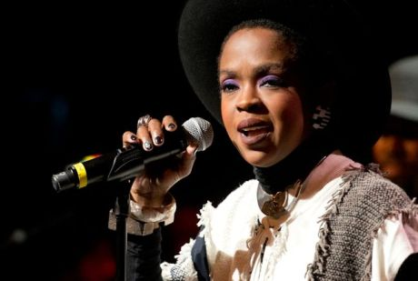 Lauryn Hill Performing Headshot