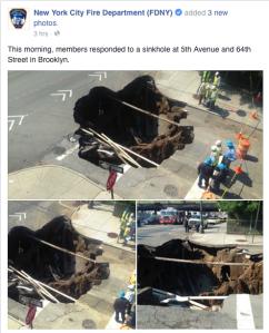 Screenshot of New York City Fire Department (FDNY) via Facebook